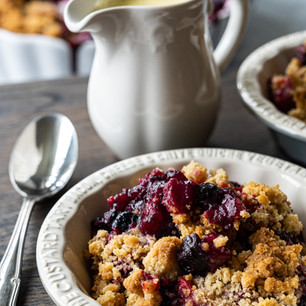 Classic Berry Crumble