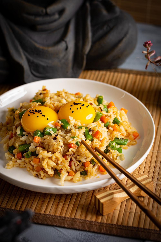 Tamago Kake Gohan food photography