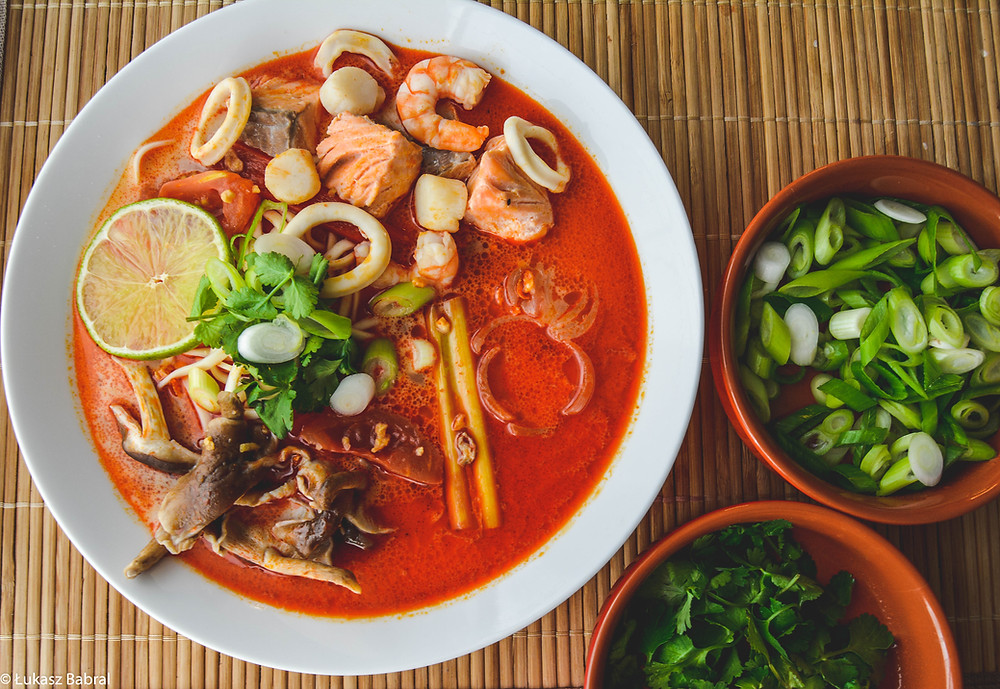 Tom Yum Talay - Thai Seafood Soup Recipe
