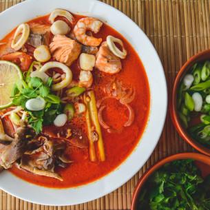 Tom Yum Talay - Thai Seafood Soup