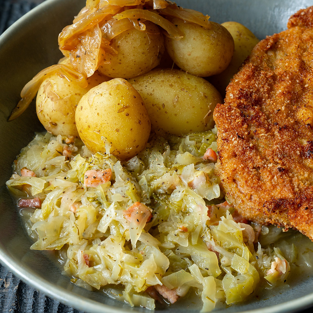 Braised Cabbage with Schabowy
