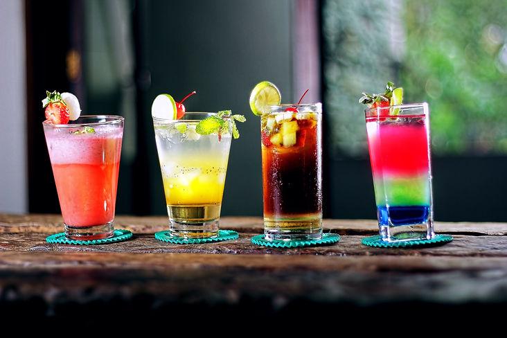 Ejemplos de bebidas endulzadas