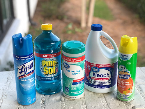 Cleaners and Disinfectant Bundle
