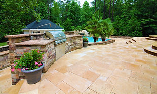 Backyard Grill and Patio