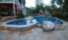 Image of Pool Deck By House