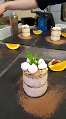 Dessert de l'Aromatic - Restaurant proche de Saint-Brieuc