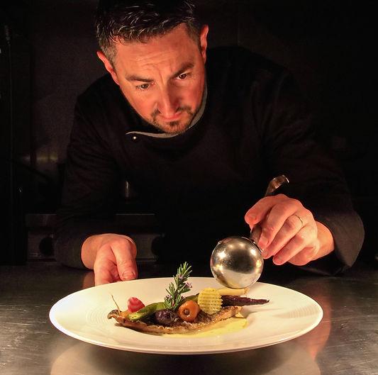 Christophe Sagory - Maître restaurateur de l'Aromatic