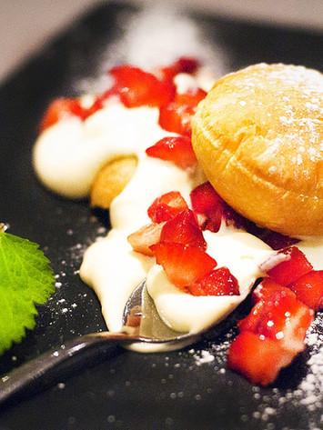 Restaurant bistronomique Côtes d'Armor - Dessert de l'Aromatic