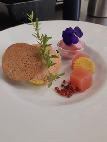 Plat principal du restaurant l'Aromatic dans les Côtes d'Armor