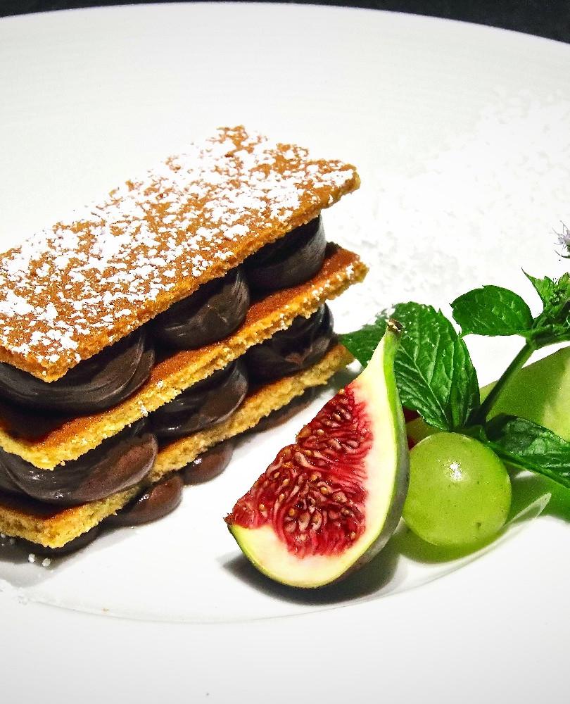 Restaurant bistronomique Ploeuc-l'Hermitage - Dessert de l'Aromatic