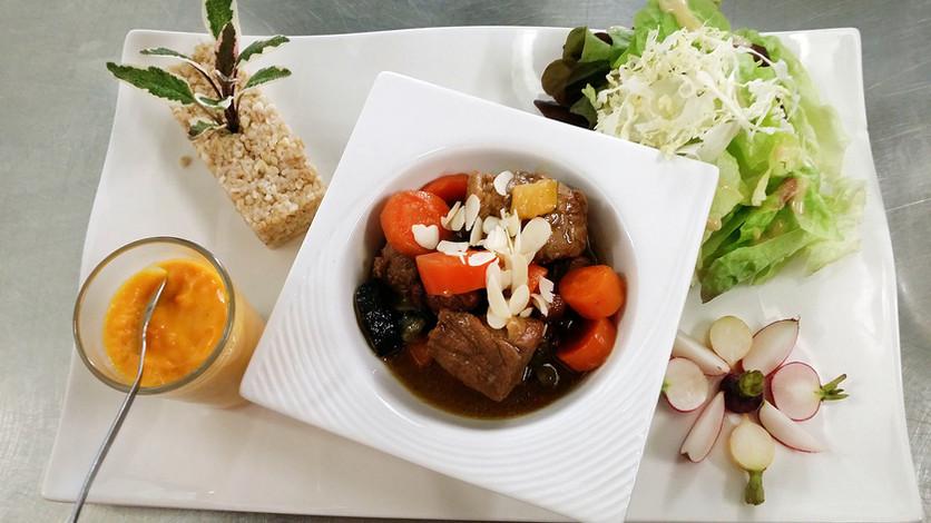 Plat du restaurant l'Aromatic - Ploeuc-l'Hermitage