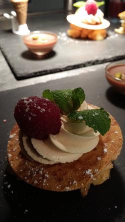 Dessert de l'Aromatic - Restaurant bistronomique proche de Saint-Brieuc