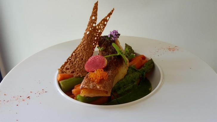 Plat bistronomique de l'Aromatic - Côtes d'Armor