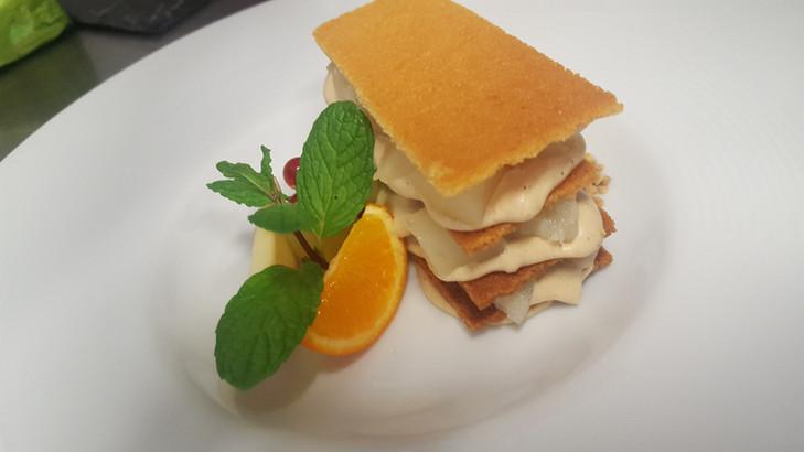 Dessert bistronomique de l'Aromatic - Restaurant à côté de Saint-Brieuc