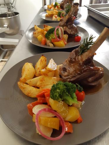 Plat du restaurant l'Aromatic - proche de Saint-Brieuc