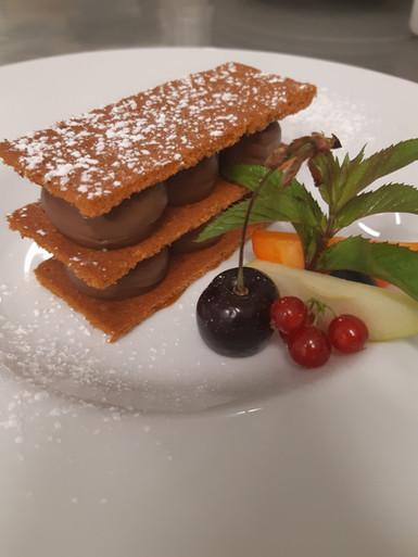 Dessert bistronomique de l'Aromatic - Restaurant proche de Saint-Brieuc