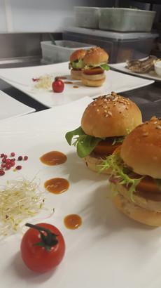 Hamburger bistronomique de l'Aromatic - Côtes d'Armor