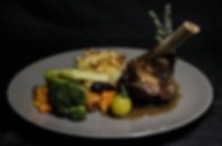 Plat bistronomique de l'Aromatic - Restaurant Ploeuc-l'Hermitage