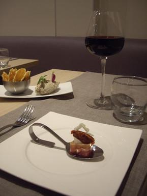 Plat bistronomique de l'Aromatic - Ploeuc-l'Hermitage