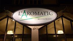 Restaurant l'Aromatic en Bretagne - Enseigne