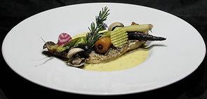 Plat bistronomique de l'Aromatic - Restaurant Côtes d'Armor