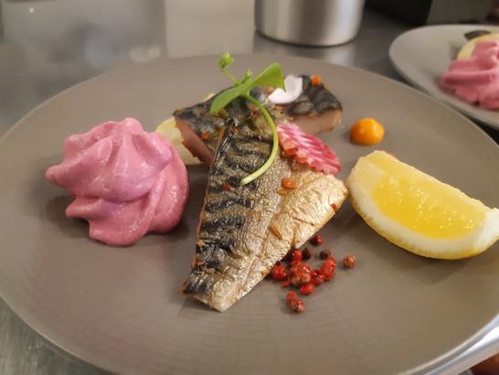 Plat bistronomique de l'Aromatic - Restaurant proche de Saint-Brieuc