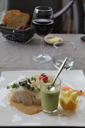 Menu de l'Aromatic - Restaurant en Bretagne