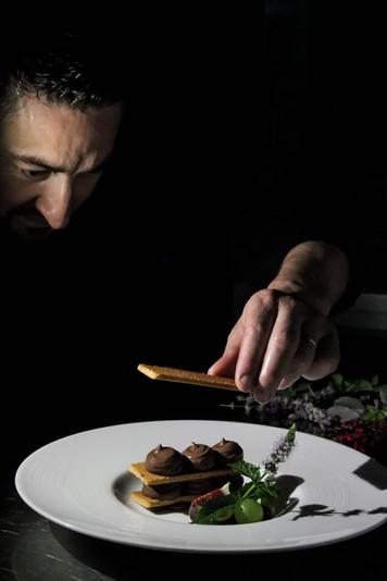 Chef cuisinier Christophe Sagory à Ploeuc-l'Hermitage