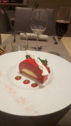 Dessert semi gastronomique du restaurant l'Aromatic en Côtes d'Armor