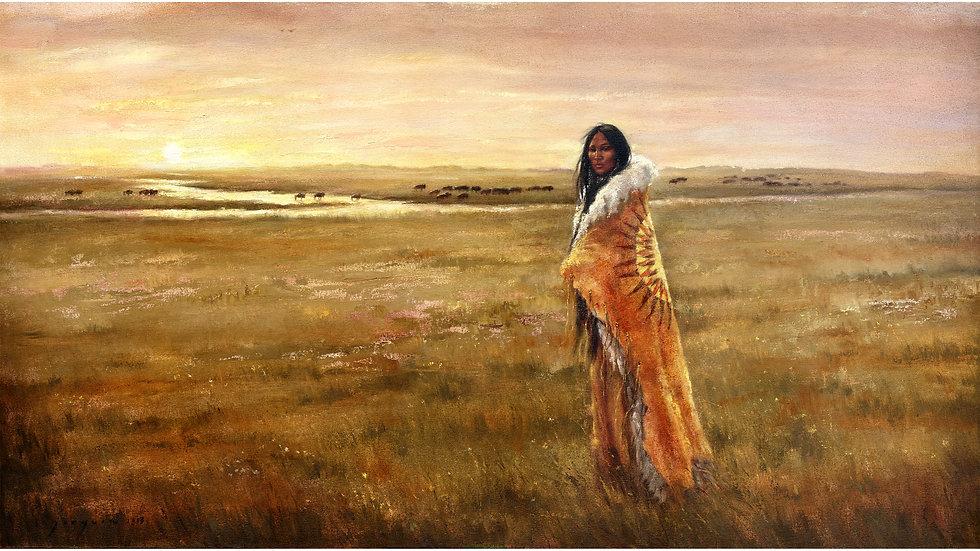 Return of the White Buffalo Woman  fine art print