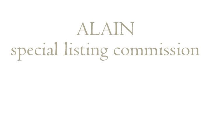 Alain  commission deposit