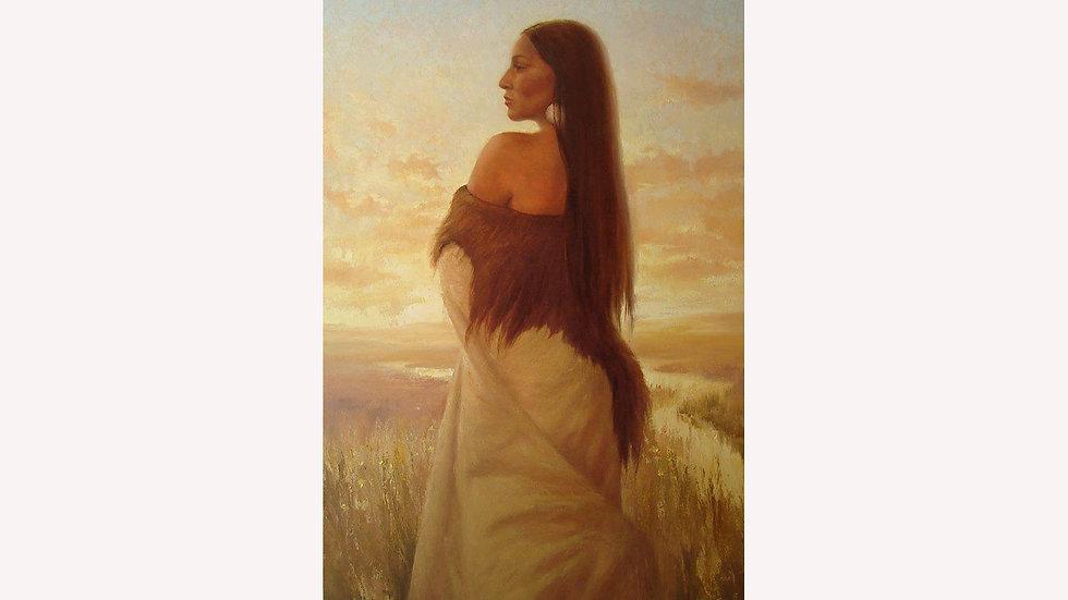 Buffalo Woman  Original SOLD