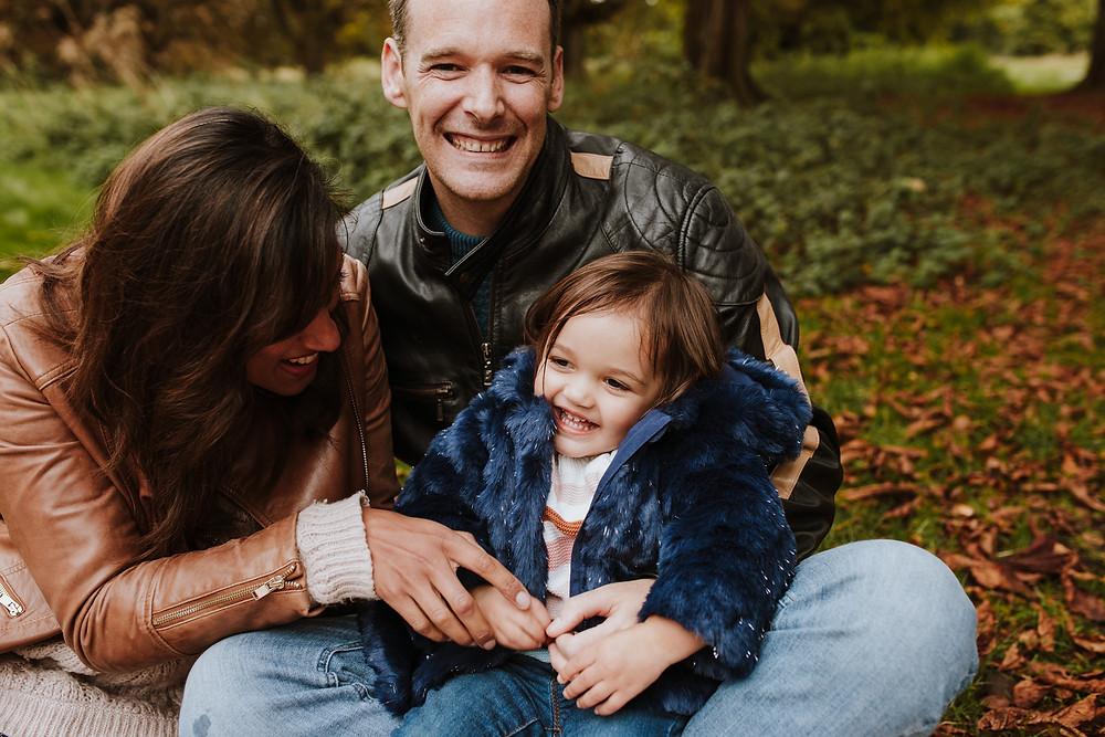 Autumn family photo
