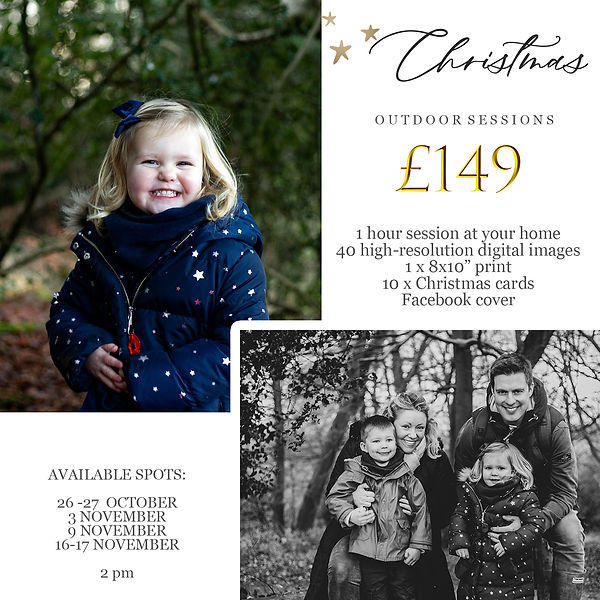 christmas marketing board for outdoor se