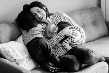 Relaxed family photographer Hertfordshir