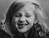 Sophie freelensed portrait black and whi