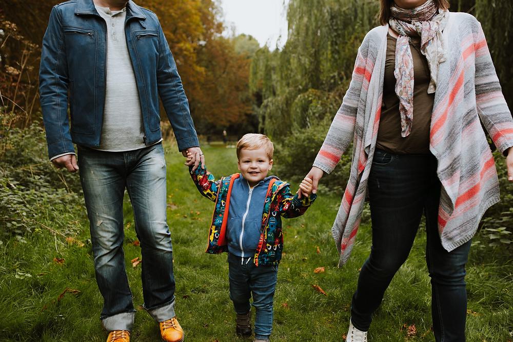 Autumn family photo in Watford