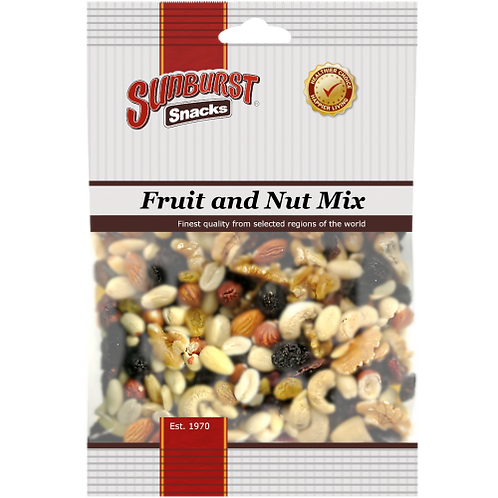 Packet of nuts or dried fruit