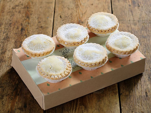 Box of 6 mince pies