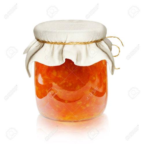 Jar of jam or marmalade