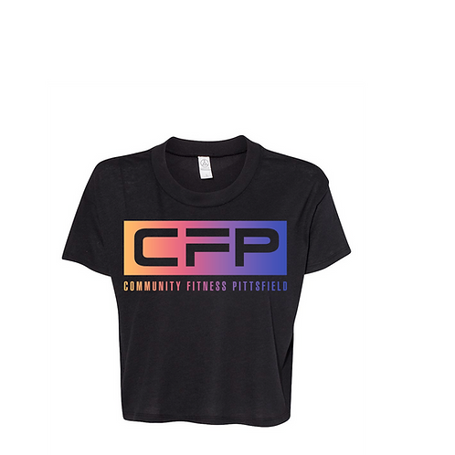 CFP Community Fitness Crop Tee