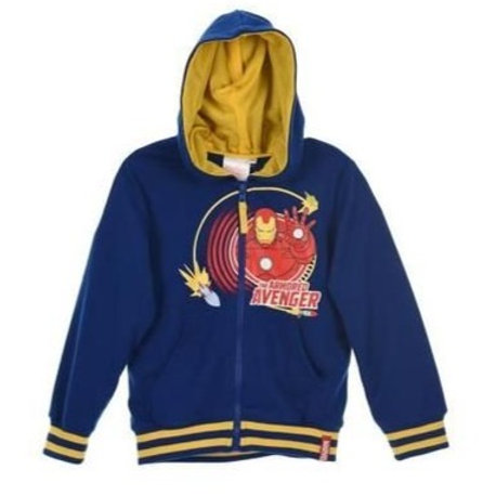 Avangers sweat zip capuche 4 ans