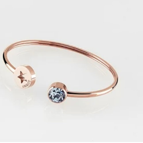 "Guess bracelet "" strass"" marine "" or rose "" Femme"