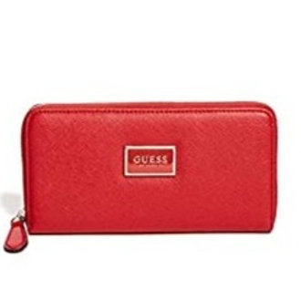 Guess porte feuille rouge