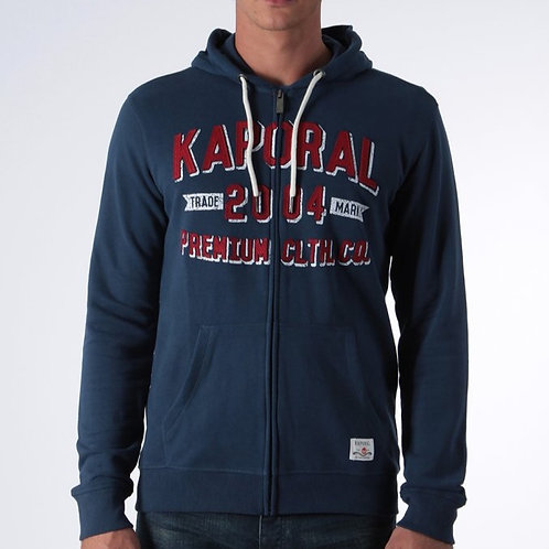 Kaporal sweat zip capuche T. 2XL et 3XL