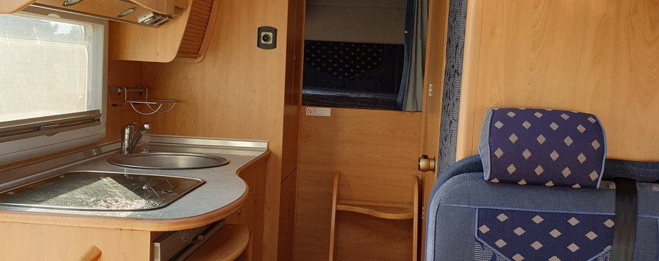 View to rear sleeping area