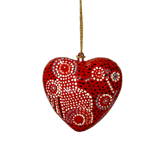 Christmas Heart by Andrea Adamson Tiger