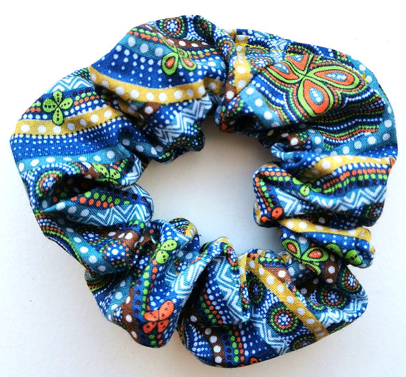 "Blue Scrunchie - ""Rebirth Butterfly Spirits"" by Heather Kennedy"