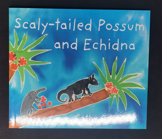 Scaly Tailed Possum and Echidna by Cathy Goonack