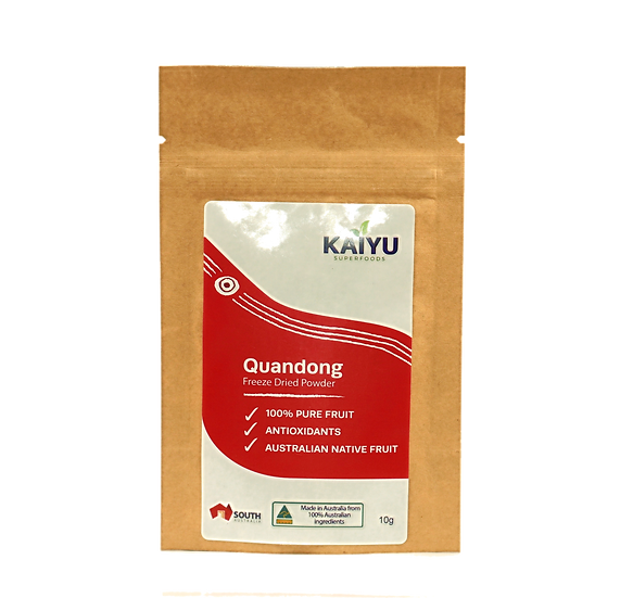 Quandong Powder - Freeze dried 10g